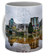 Downtown Of Greenville South Carolina Around Falls Park Coffee Mug