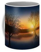 Dramatic Landscape Coffee Mug by Setsiri Silapasuwanchai