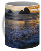 Dramatic Sunset Oregon Coast Usa Coffee Mug