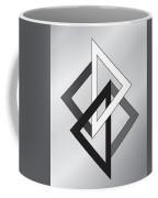 Drawn2shapes1bnw Coffee Mug