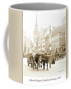 Dresden, Altmarkt Square, Germany, 1903 Coffee Mug