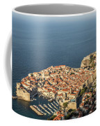 Dubrovnik And The Adriatic Coast In Croatia Coffee Mug