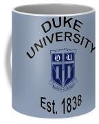 Duke University Est 1838 Coffee Mug