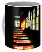 Dusk At The Factory Coffee Mug
