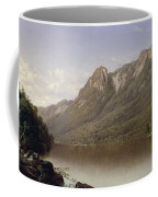 Eagle Cliff At Franconia Notch In New Hampshire Coffee Mug by David Johnson