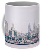 Early Morning Sunrise Over Philadelphia Pennsylvania Coffee Mug