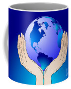 Earth In The Your Hands Coffee Mug