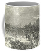 Easter Hunt With The Royal Stag Hounds  The Meet At Stoke Common Coffee Mug