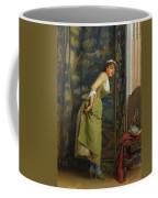 Eavesdropping Coffee Mug