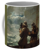 Eight Bells Coffee Mug by Winslow Homer