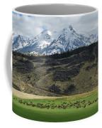 Elk Herd Coffee Mug