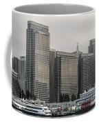 Embarcadero Center Buildings In San Francisco, California Coffee Mug