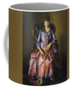 Emma In A Purple Dress Coffee Mug
