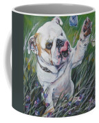 English Bulldog Coffee Mug by Lee Ann Shepard