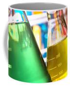 Erlenmeyer Flasks In Science Research Lab Coffee Mug