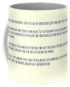 Ernesto Che Guevara Speaking 3 Coffee Mug