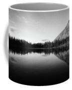 Evening Reflection Bw Coffee Mug