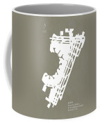 Ewr Newark Liberty International Airport In Newark Usa Runway Si Coffee Mug