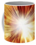 Explosive Background  Coffee Mug