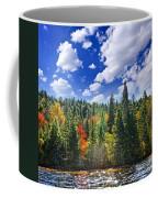 Fall Forest In Sunshine Coffee Mug