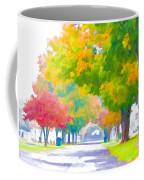 Fall In Holly Hill Coffee Mug