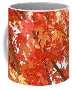 Fall Trees Colorful Autumn Leaves Art Baslee Troutman Coffee Mug
