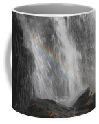 Falls And Rainbow Coffee Mug