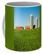 On Green And Blue Coffee Mug