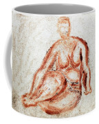 Fat Nude Woman  Coffee Mug