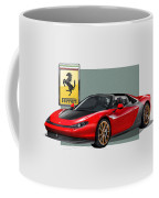 Ferrari Sergio With 3d Badge  Coffee Mug