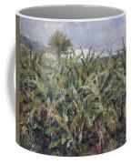 Field Of Banana Trees Coffee Mug