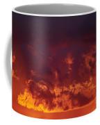 Fiery Clouds Coffee Mug by Michal Boubin