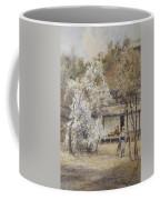 Figure In A Japanese Landscape Coffee Mug