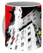 Film Noir Act Of Violence 1949 Pioneer Hotel Fire 1970 Jack Schaeffer Photo Color Added 2012 Coffee Mug