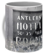 Film Noir Ray Teal Anthony Caruso Scene Of The Crime 1949 Antlers Hotel Victor Colorado 1971-2013 Coffee Mug