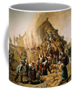 Fire In A Haystack Coffee Mug