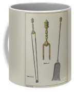 Fire Tongs And Shovel Coffee Mug