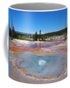 Firehole Spring In Yellowstone National Park Coffee Mug