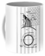 Fireman's Helmet Patent Coffee Mug