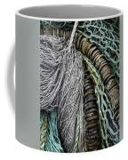 Fish Netting Husavik Iceland 3755 Coffee Mug