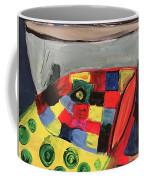 Fish With Cup Coffee Mug