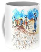 Fishermen In Praia De Mira Coffee Mug