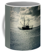 Fishing Boat Coffee Mug by Joana Kruse