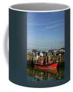 Fishing Boats At Whitstable Harbour 02 Coffee Mug