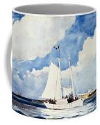 Fishing Schooner Coffee Mug