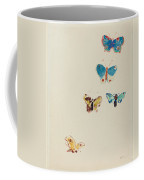 Five Butterflies Coffee Mug