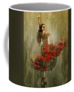 Flamenco In Red Coffee Mug