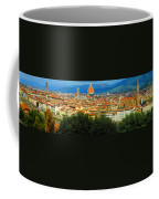 Florence, Italy Panoramic Coffee Mug