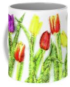 Flower Frame Border Coffee Mug