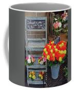 Flower Shop Display In Paris, France Coffee Mug